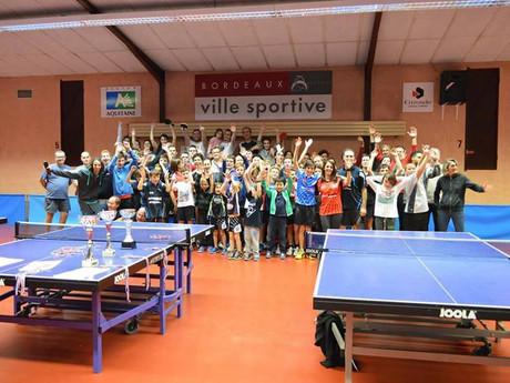 Le CAM Bordeaux Tennis de Table