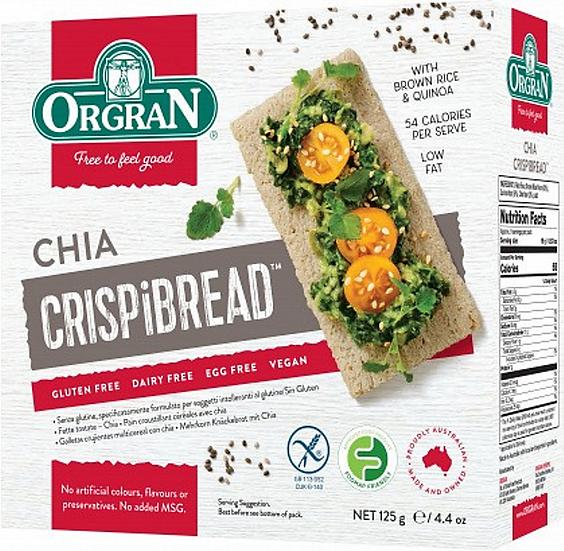 Orgran - Chia Crispibread