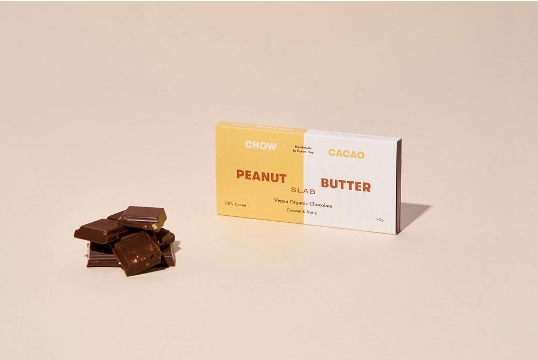 Chow Cacao - Peanut Butter Slab