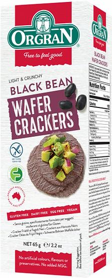 Orgran - Black Bean Wafer Crackers