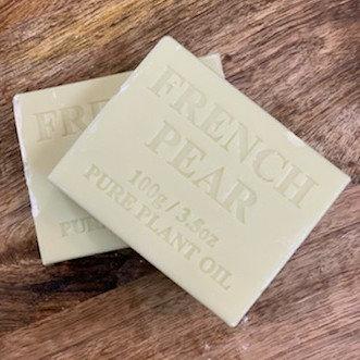 French Pear Soap Bar