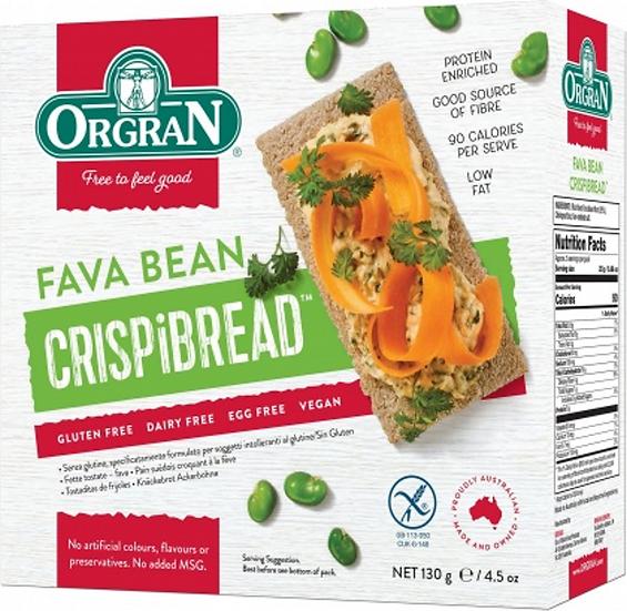 Orgran - Fava Bean Crispibread