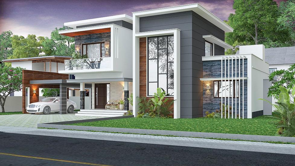 Residence Design in Vallicode.