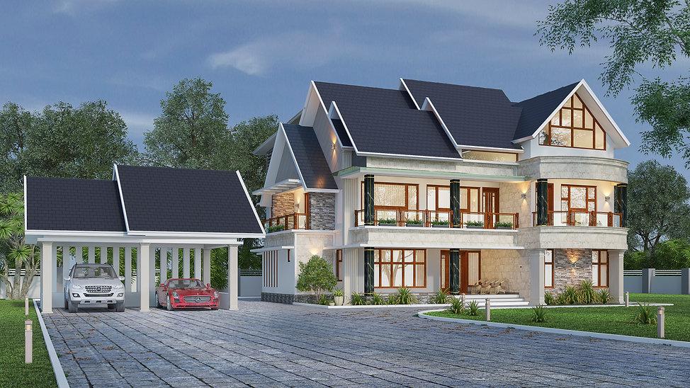 Residence Renovation in Aranmula