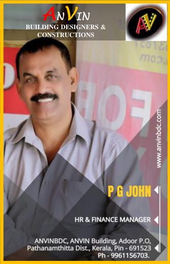 Mr. P. G JOHN