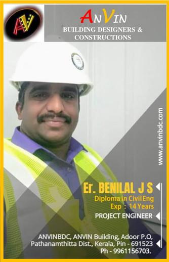 Er.BENILAL J S
