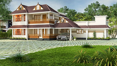 Traditional Kerala styled Design in Chayalode
