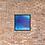 Thumbnail: Deep Blue Serenity Framed Print 18x18