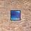 Thumbnail: Deep Blue Serenity Framed Print 16x16