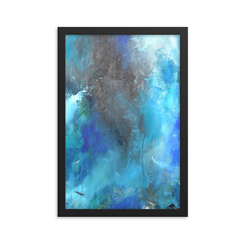 Dancing With My Fears Framed Print 12x18