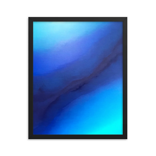 Reflect on Peace Framed Print 16x20