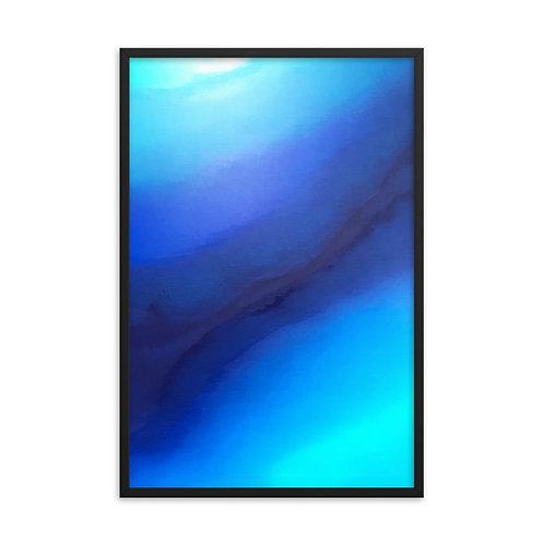 Reflect on Peace Framed Print 24x36