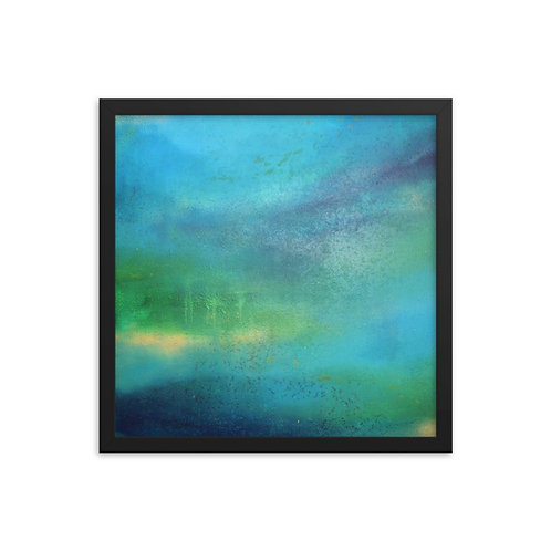 Weeping World Framed Print 16x16