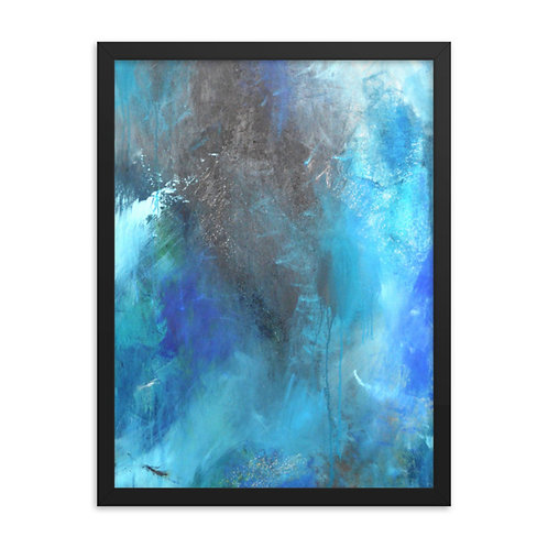 Dancing With My Fears Framed Print 18x24
