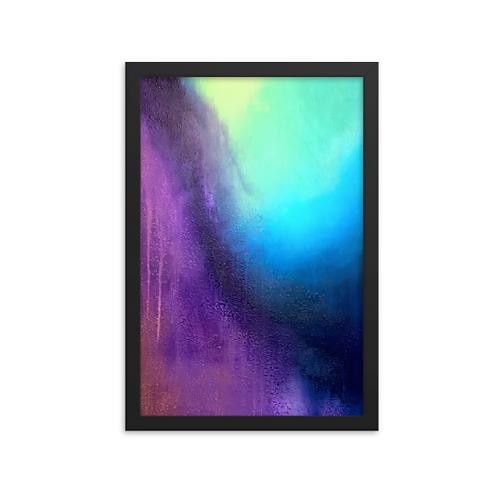 Transient Storm Framed Print 12x18