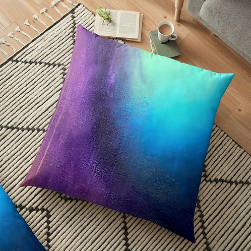 Transient Storm Floor Pillow
