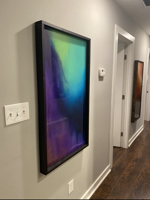 """Transient Storm"" Original Resin Painting"