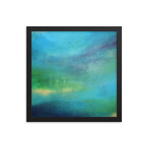 Weeping World Framed Print 14x14