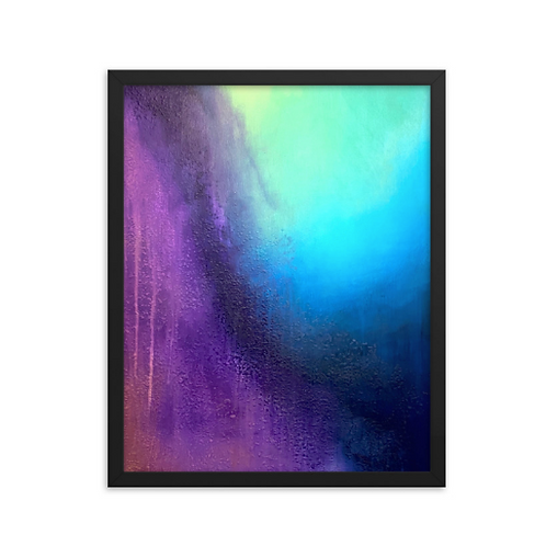 Transient Storm Framed Print 16x20
