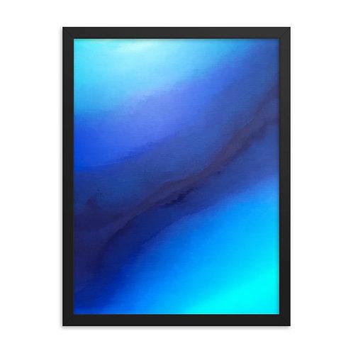 Reflect on Peace Framed Print 18x24