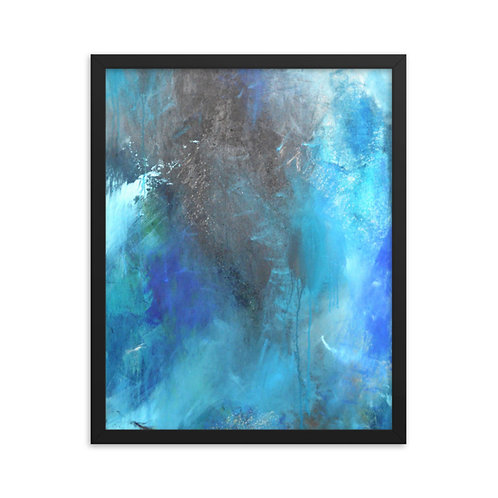 Dancing With My Fears Framed Print 16x20