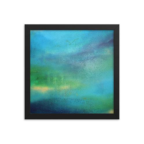 Weeping World Framed Print 12x12