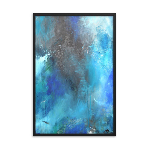 Dancing With My Fears Framed Print 24x36