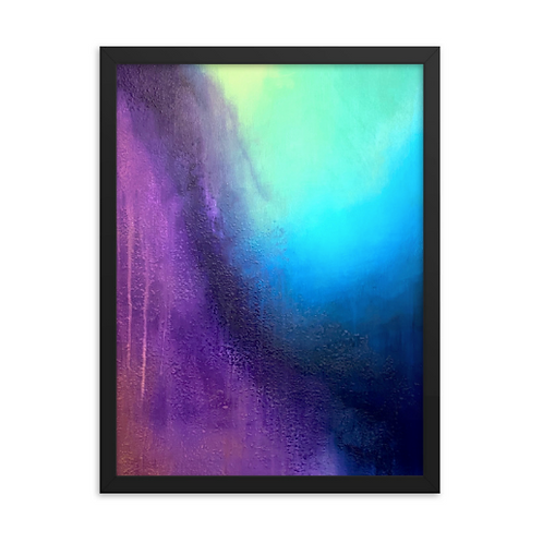Transient Storm Framed Print 18x24