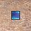 Thumbnail: Deep Blue Serenity Framed Print 14x14