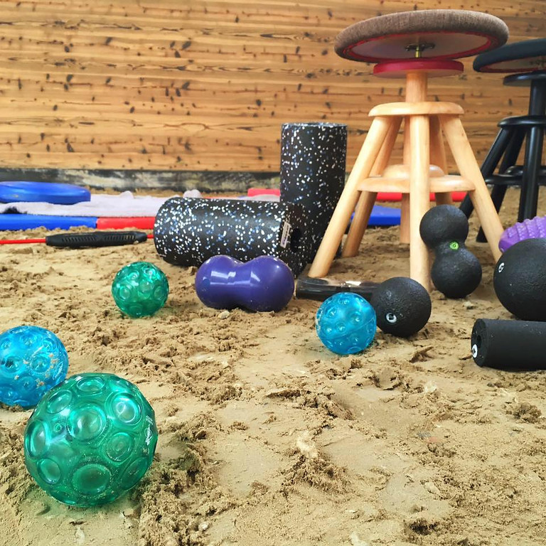 Seat-/Core Clinic & Franklin Balls at Jillian Kreinbring's Farm (5)