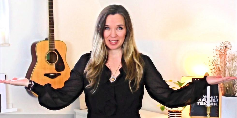 Online Sång teknik Workshop