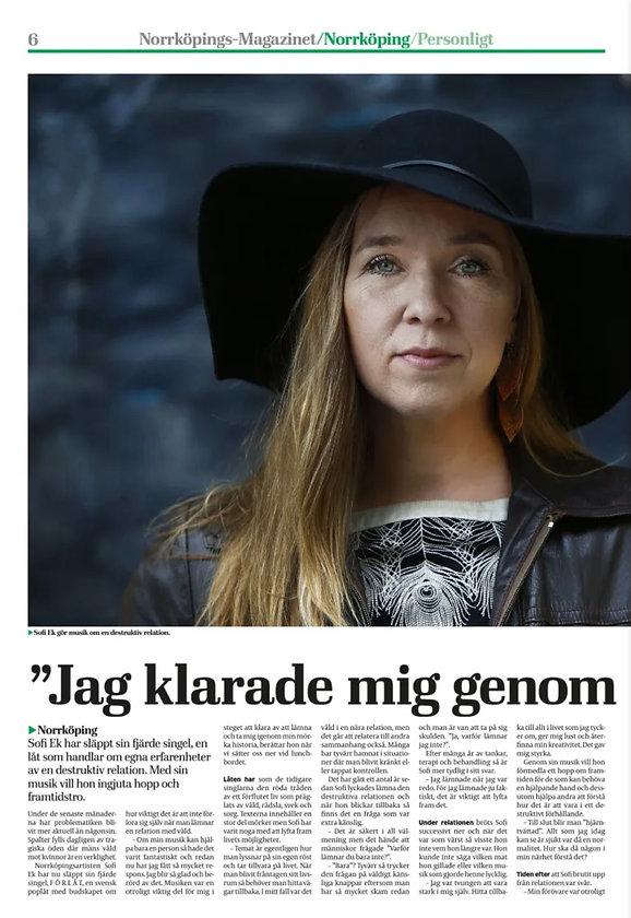 Sofi Ek Norrköpings magazinet.jpg