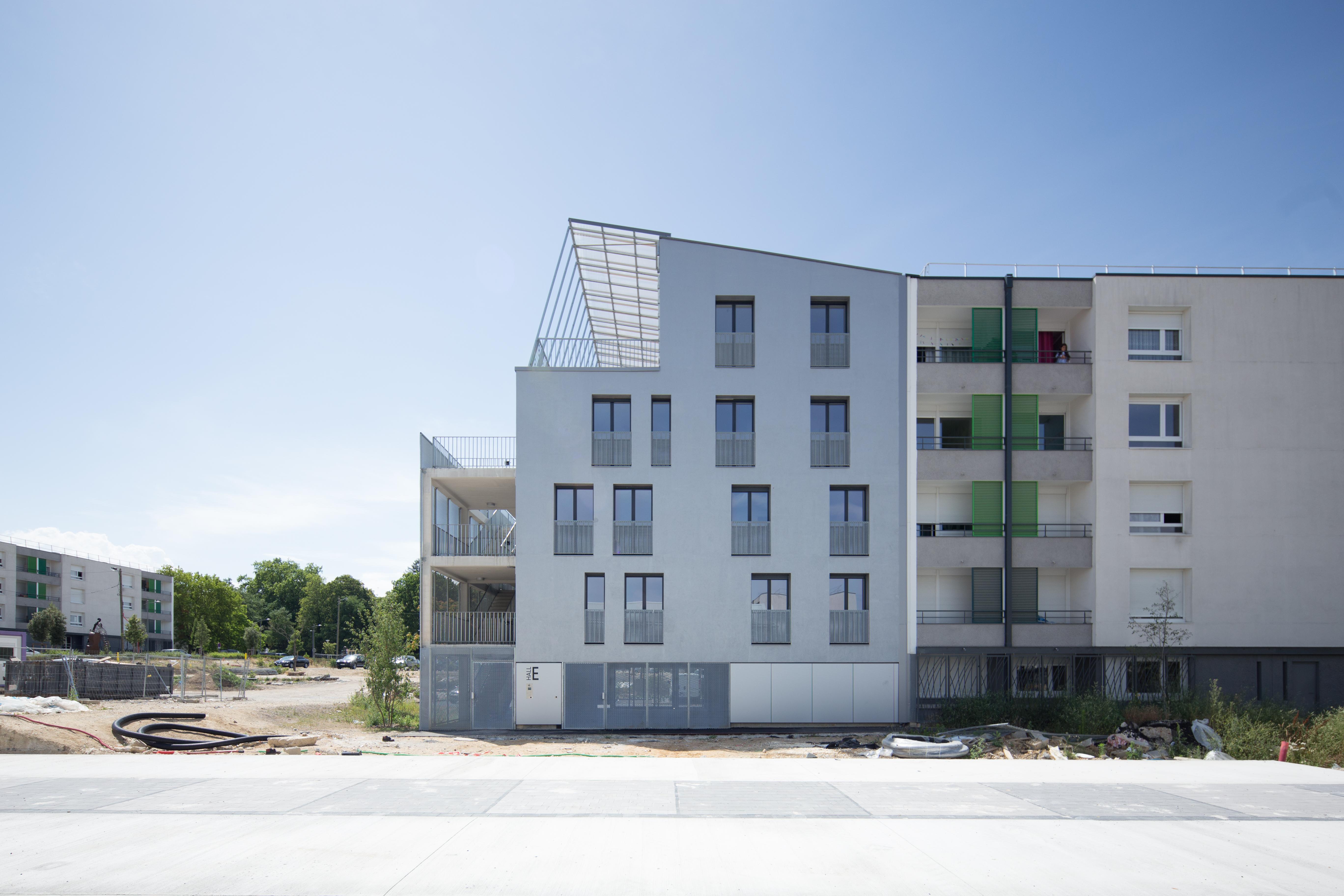 18 logements - Lormont - façade 4