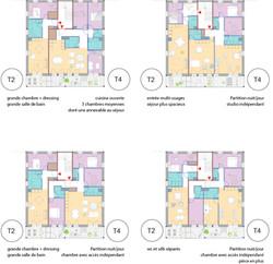162 logements - Ambares logements T4 T2