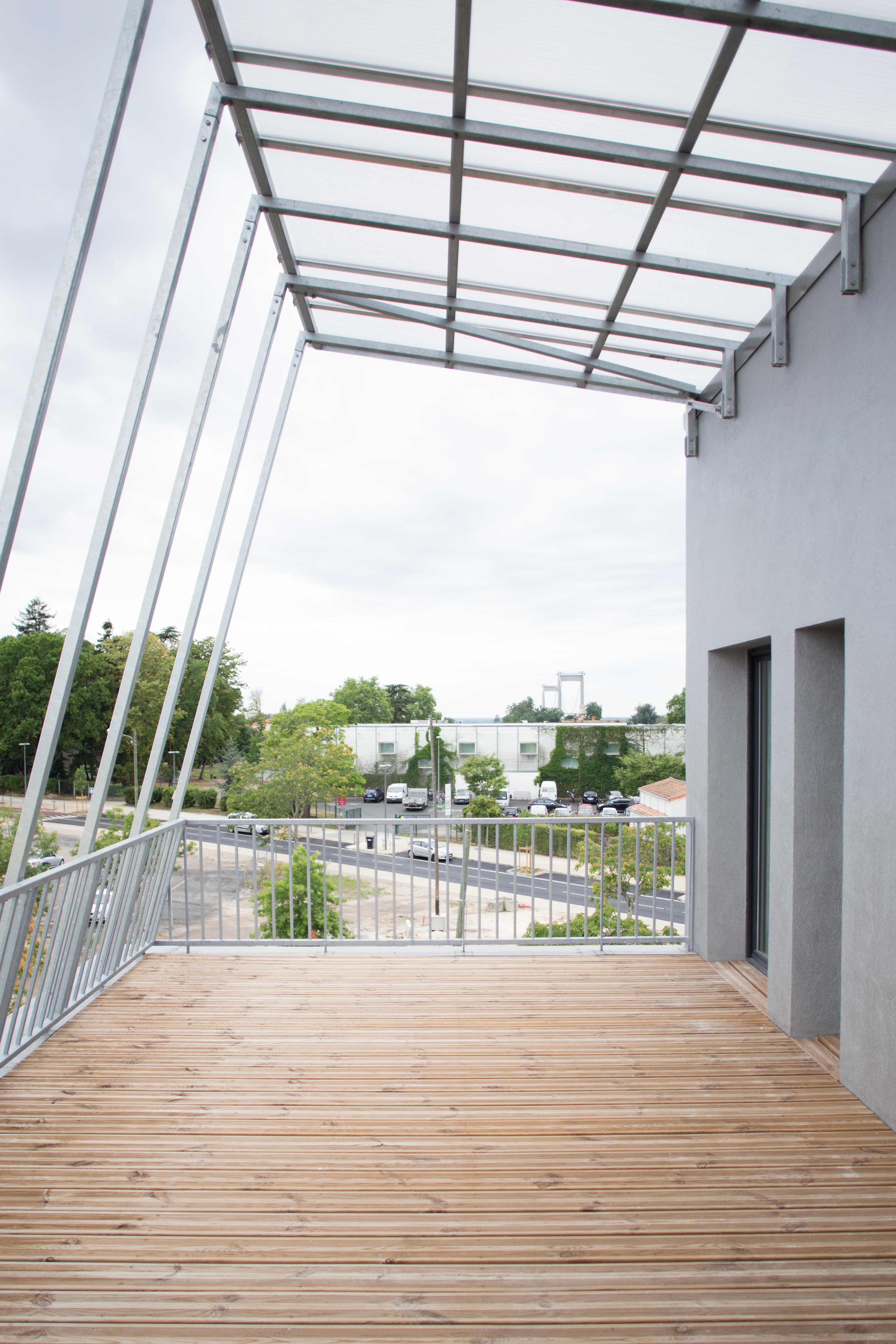 18 logements - Lormont - terrasse