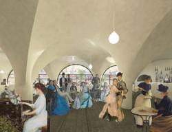 Café - Pont des Arts - vue 2