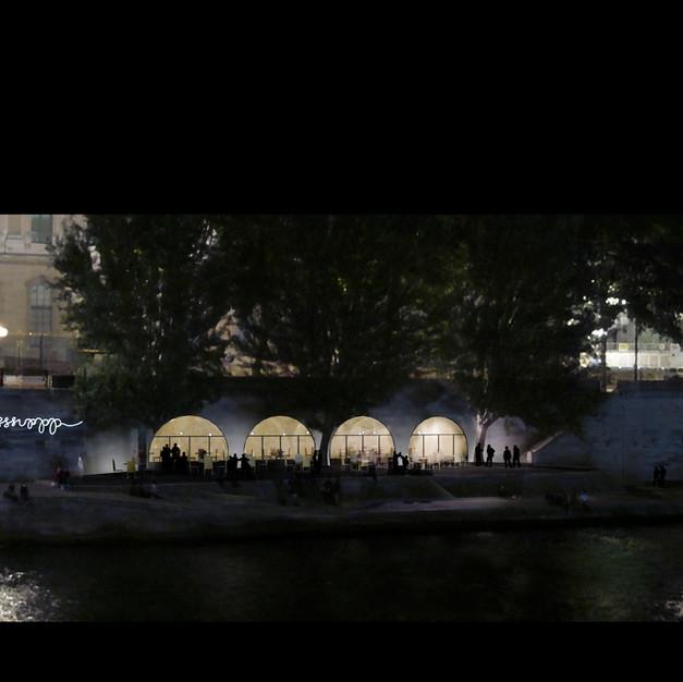 Café - Pont des Arts