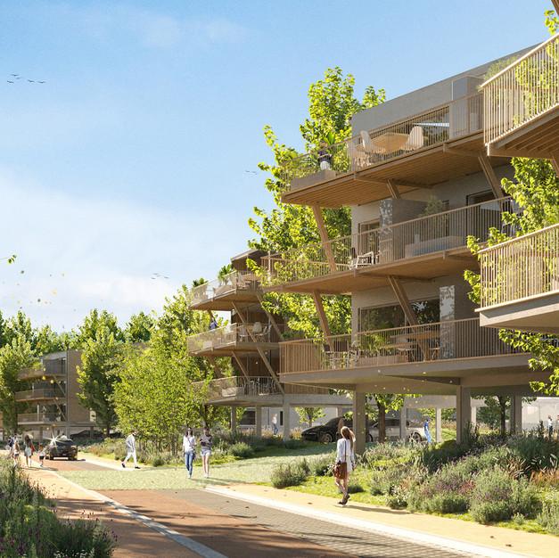 162 logements - Ambares et Lagrave  (33)