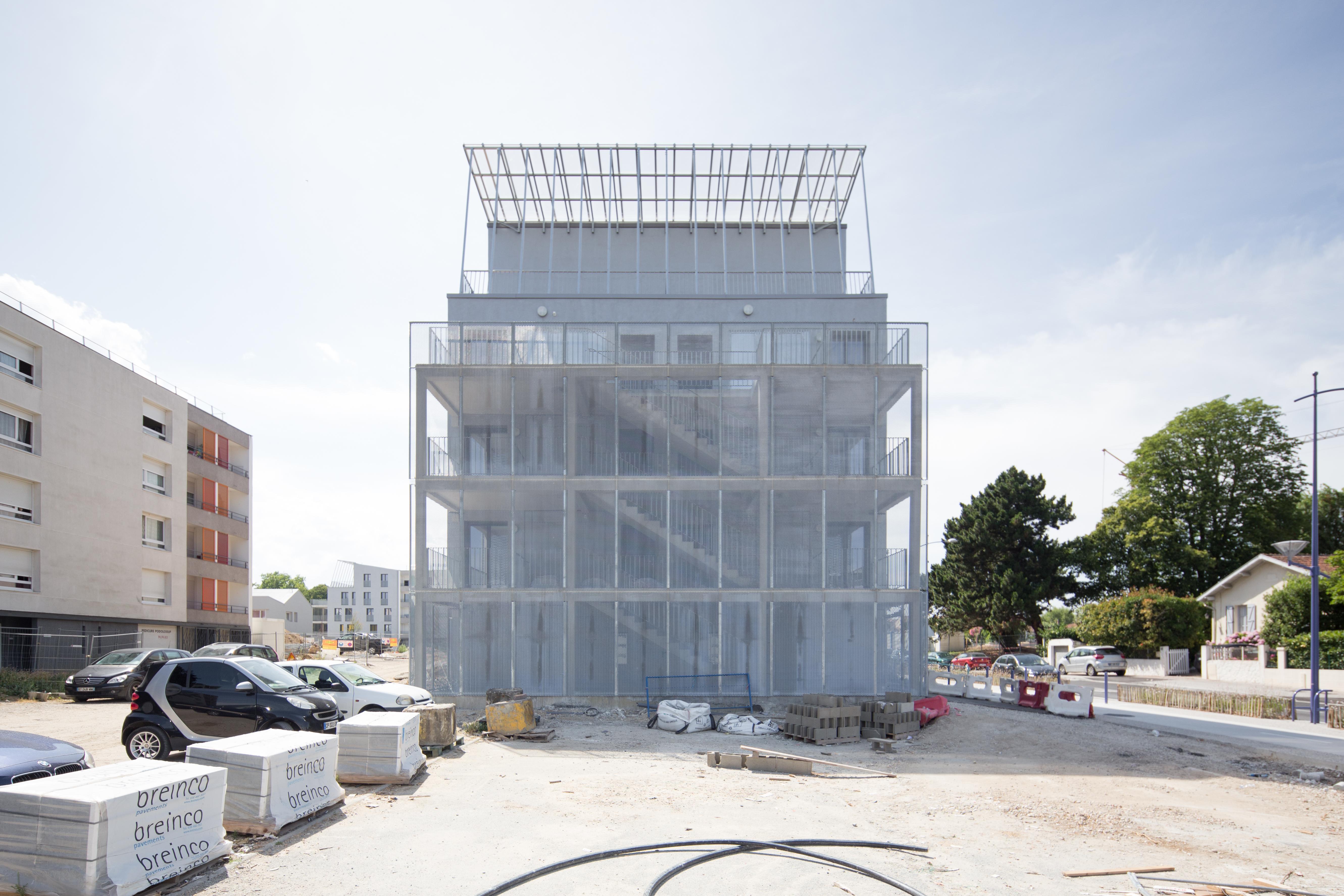 18 logements - Lormont - façade 2