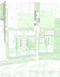 162 logements - Ambares Plan RDC Ouest