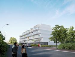 81 logements - Cenon - vue 2