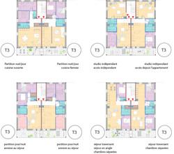 162 logements - Ambares logements T3