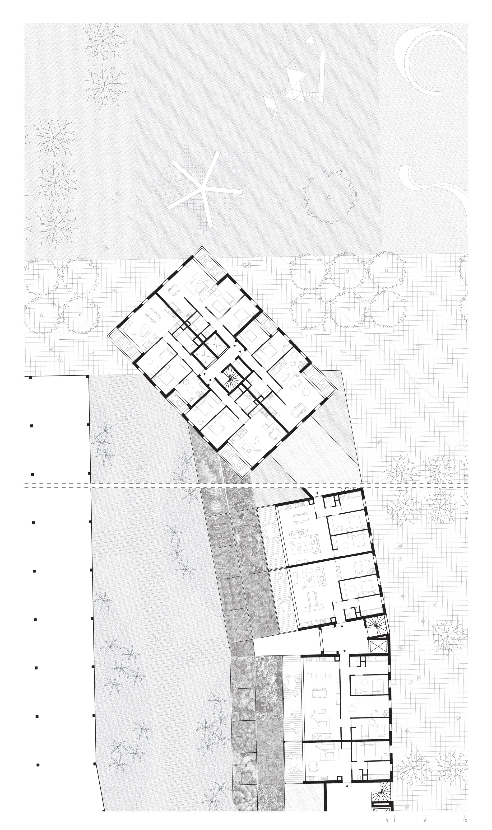 Europan 12 - plan logements