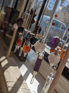Crystals and pendulums