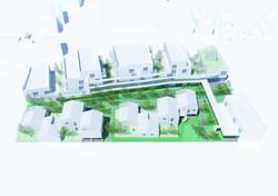 45 logements - Floirac - axo