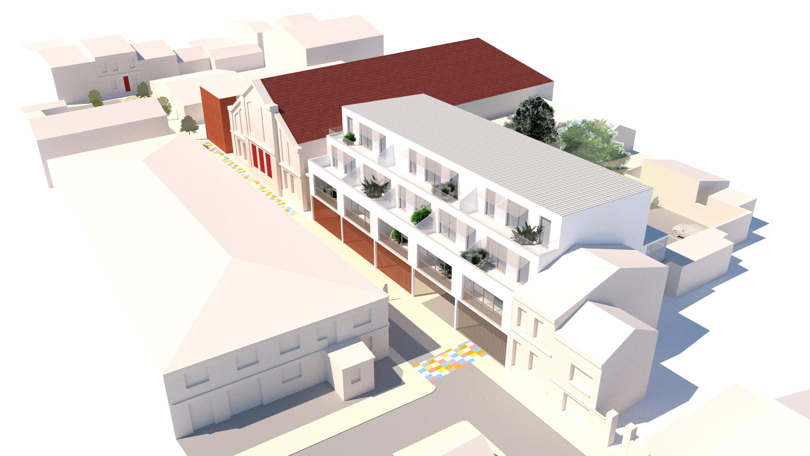 13 logements - Libourne - aérienne 1