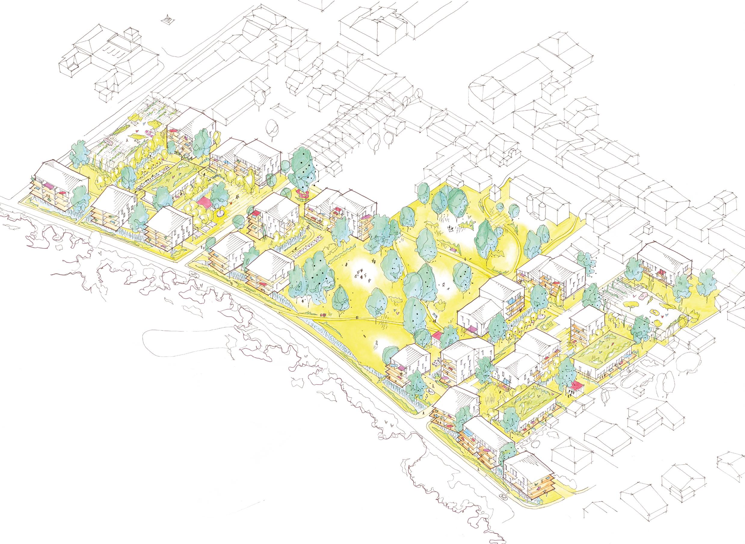162 logements - Ambares Axo