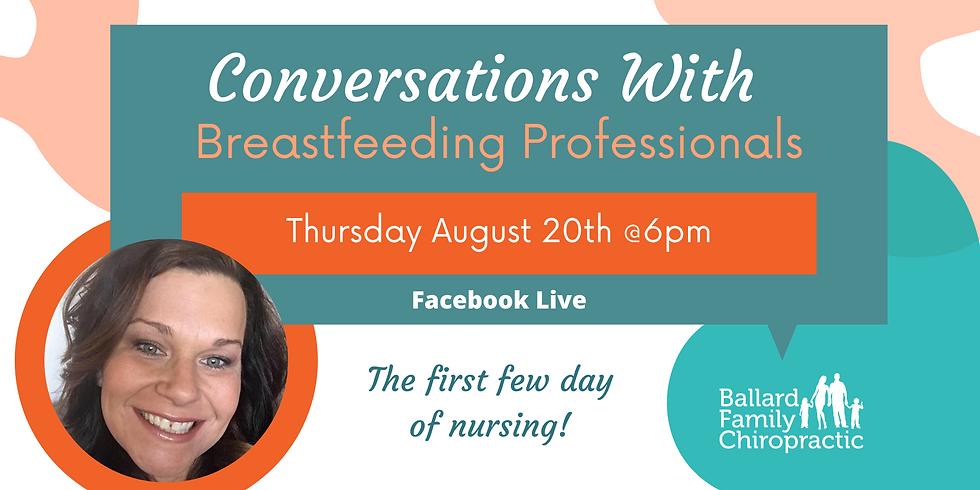 Conversations with Breastfeeding Professionals: Nichole Davis, BSN/ICBLC