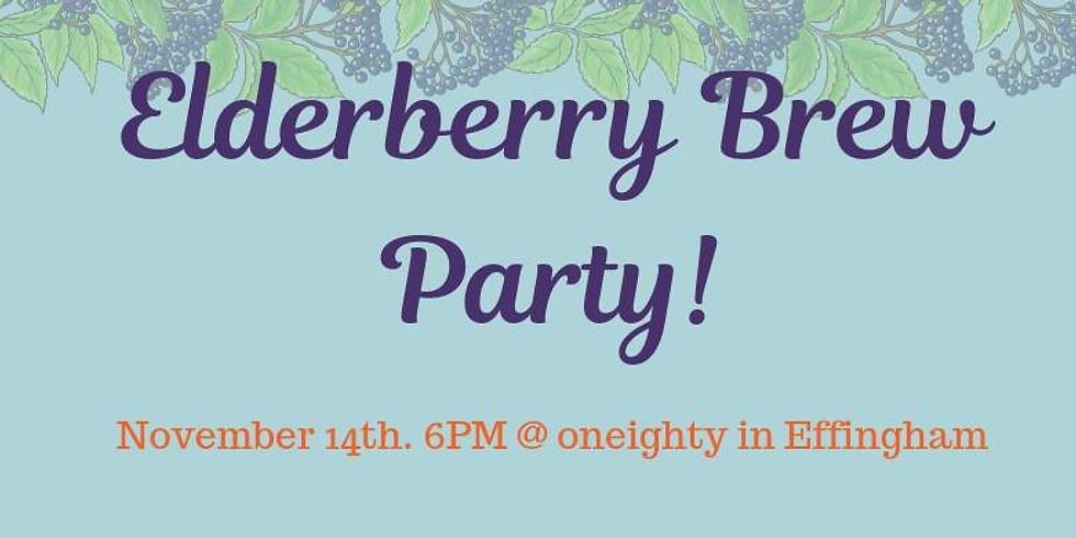 Elderberry Brew Party!