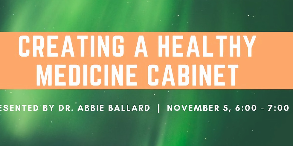 Creating A Healthy Medicine Cabinet